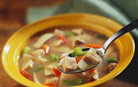soup - ~ veg chowmean soup ~
